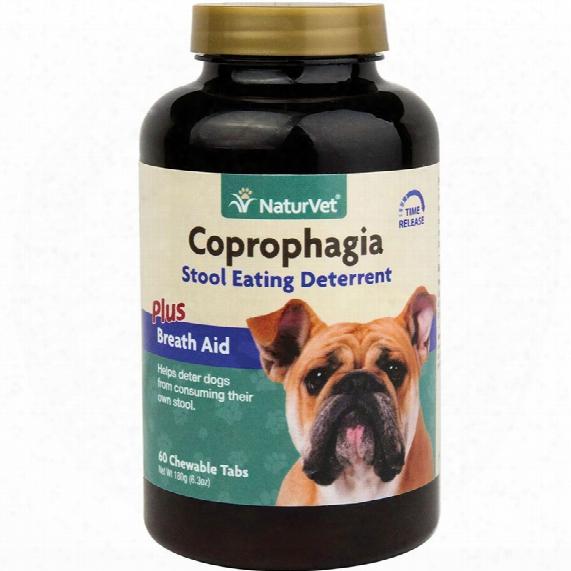 Naturvet Coprophagia Deterrent (60 Chewable Tablets)