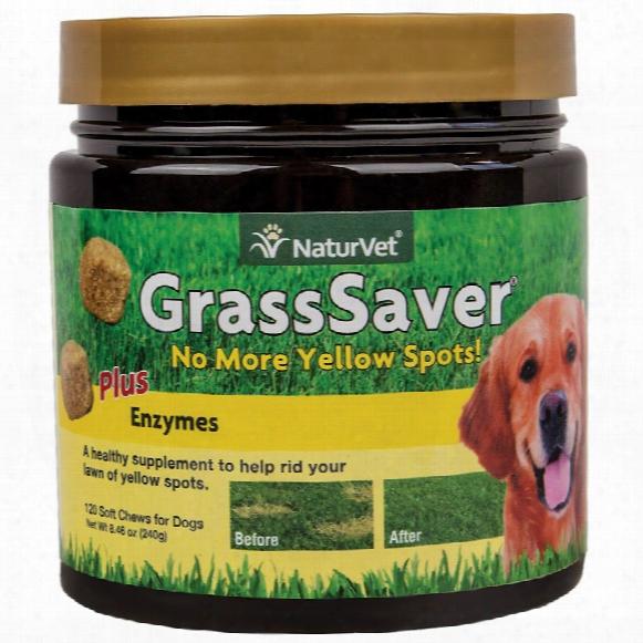 Naturvet Grasssaver Soft Chew (120 Count)