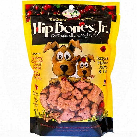 Naturvet Overby Farm Hip Bones Jr. Cherry Dog Treat (9 Oz)