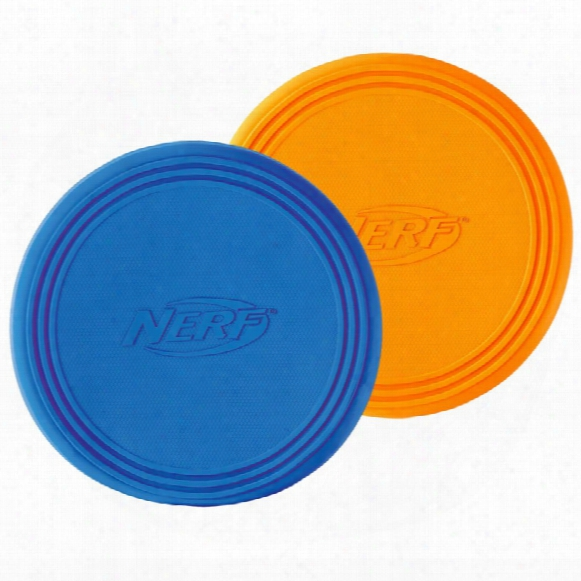 Nerf Dog Rubber Flying Disc - Large (9 In)