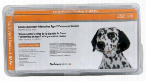 Nobivac Canine 3-dapv (25 Dose)