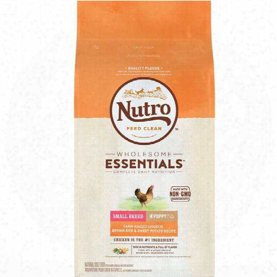 Nutro Whole Essentials Small Breed Chicken, Whole Brown Rice & Oatmeal - Puppy (4 Lb)