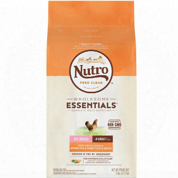 Nutro Wholesome Essentials Toy Breed Chicken, Brown Rice & Sweet Potato - Adult Dog (4 Lb)