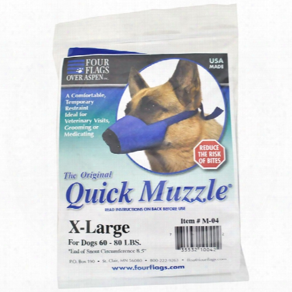 Nylon Dog Muzzles Xlarge