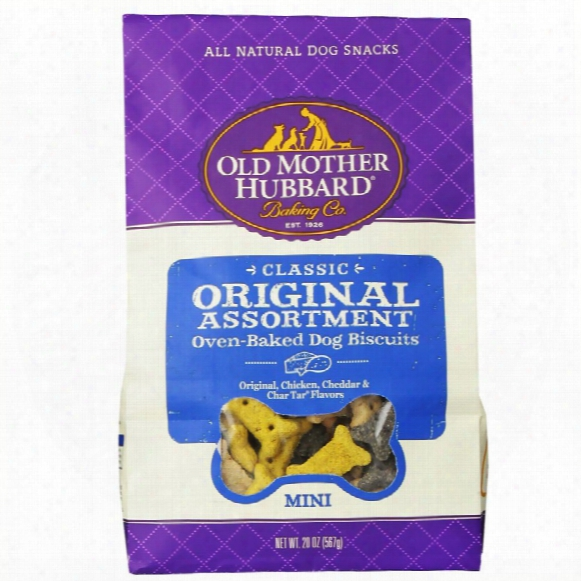 Old Mother Hubbard Original Assortment Biscuits - Mini (20 Oz)