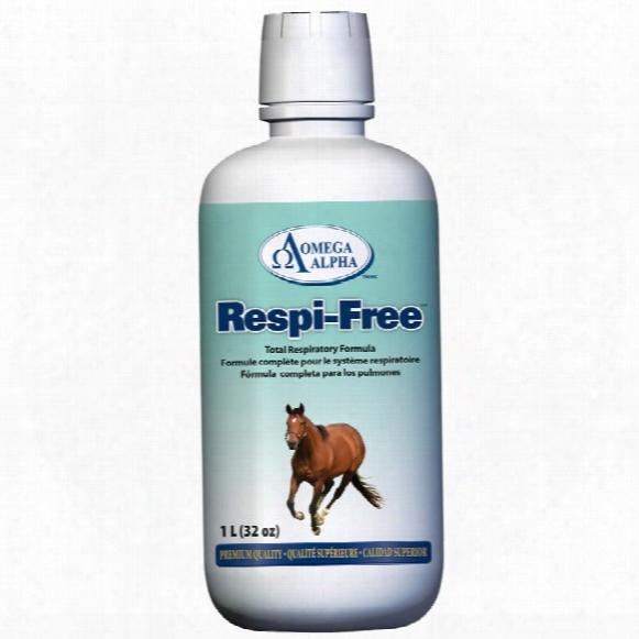 Omega Alpha Respi-free (32 Oz)