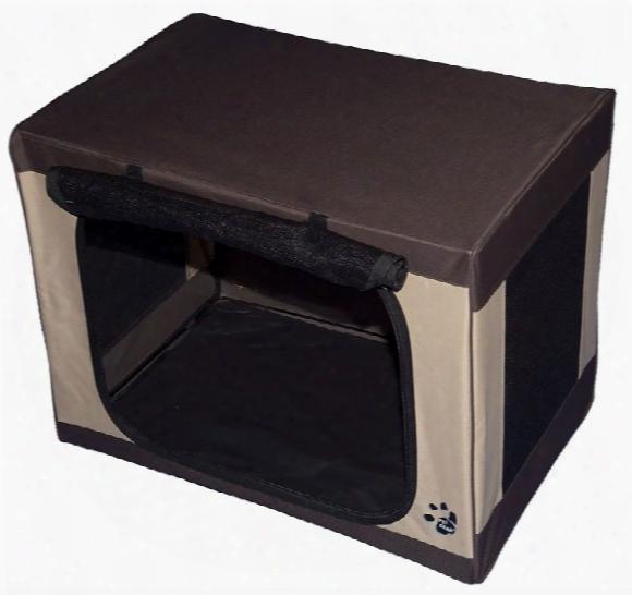 "Pet Gear Travel-lite Soft Crate 21.5"" - Sahara"