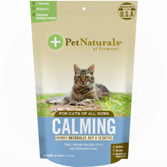 Fondling Naturals Calmng For Cats (30 Chews)