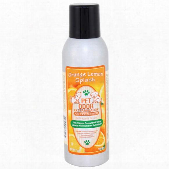 Pet Odor Exterminator - Orange Lemon Splash Spray (7 Oz)