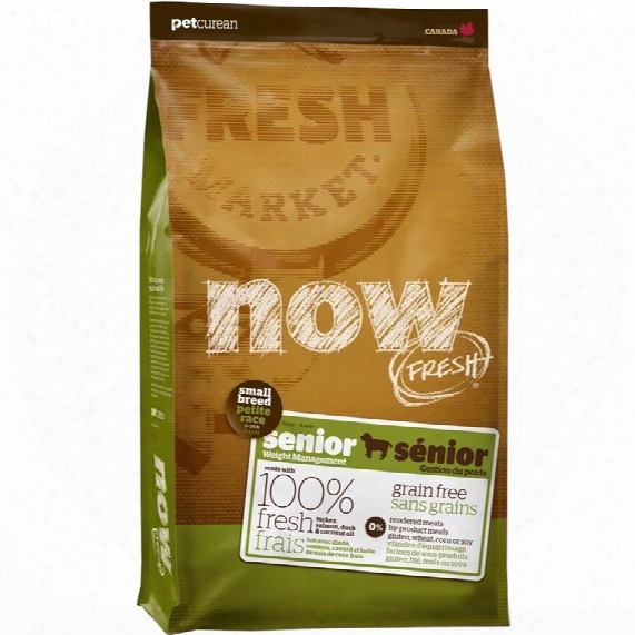 Petcurean Now Freshs Mall Breed Senior Dog Food (12 Lb)