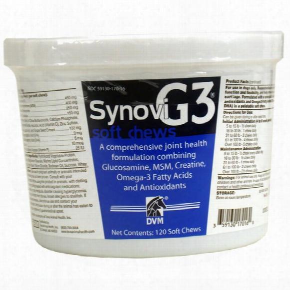 Synovig3 Soft Chews (120 Chews)