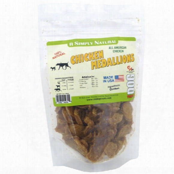 Carlson Morgan R Simply Natural Chicken Medallions (5 Oz)