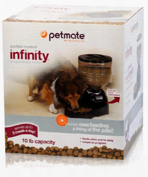 Petmate Infinity Programmable Lebistro 10 Lbs - Black
