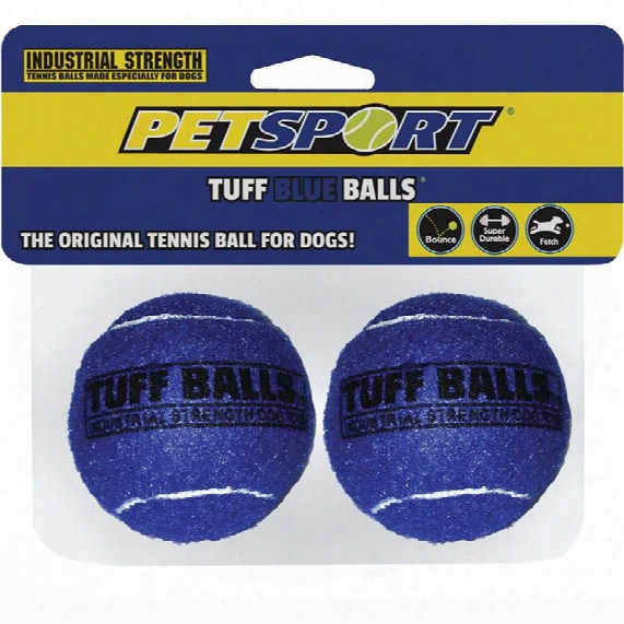 Petsport Tuff Blue Balls (2 Pack)