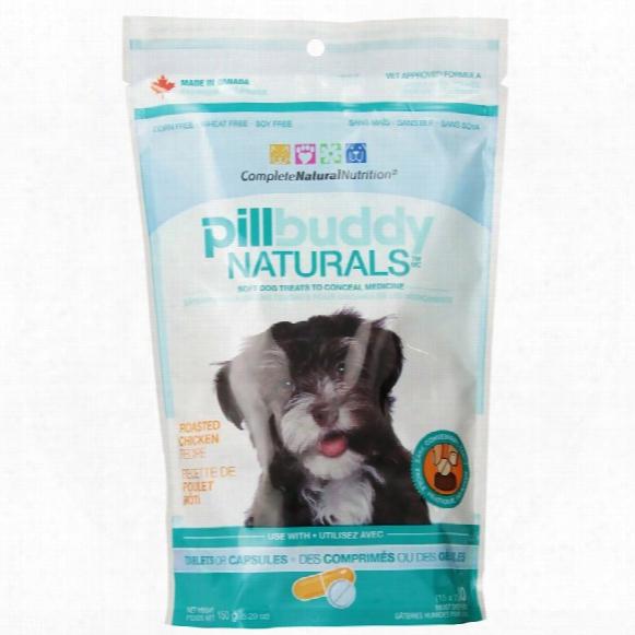 Pillbuddy Naturals - Chicken Dog Treats (30 Count)