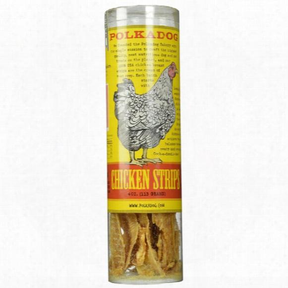 Polkadog Chicken Strips Dog Treats (4 Oz)