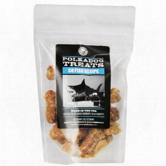 Polkadog Go Fish Dog Treats (5 Oz)
