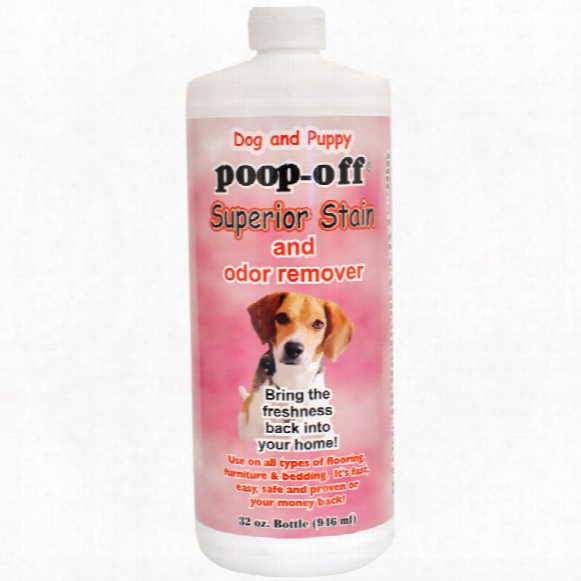 Poop-off Superior Stain & Odor Remover (32 Fl Oz)
