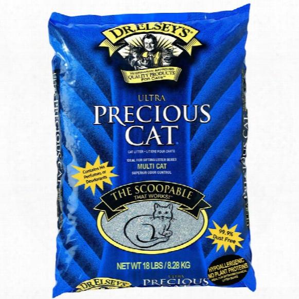 Precious Cat Ultra Premium Clumping Cat Litter (18 Lbs)