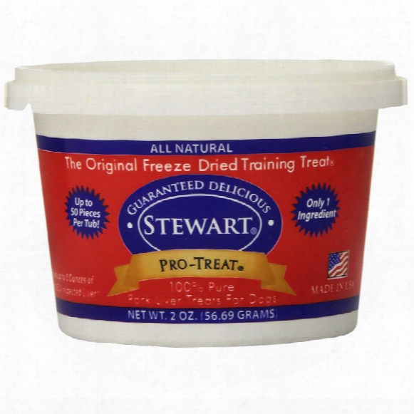 Pro-treat Freeze Dried - Pork Liver Treats (2 Oz)
