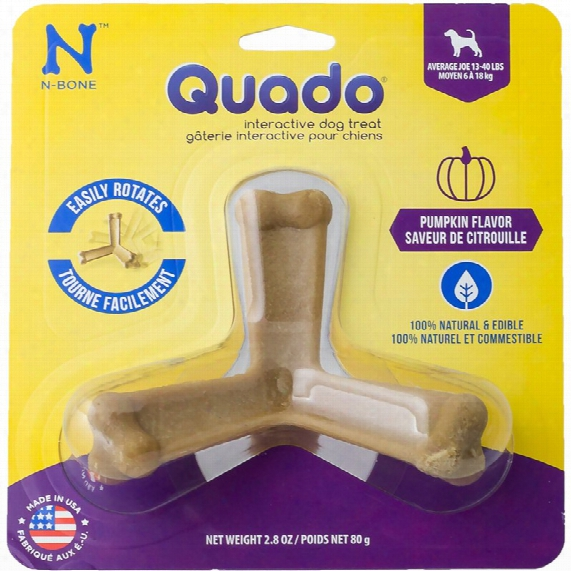 Quado Interactive Dog Treat Pumpkin Flavor - Average Joe
