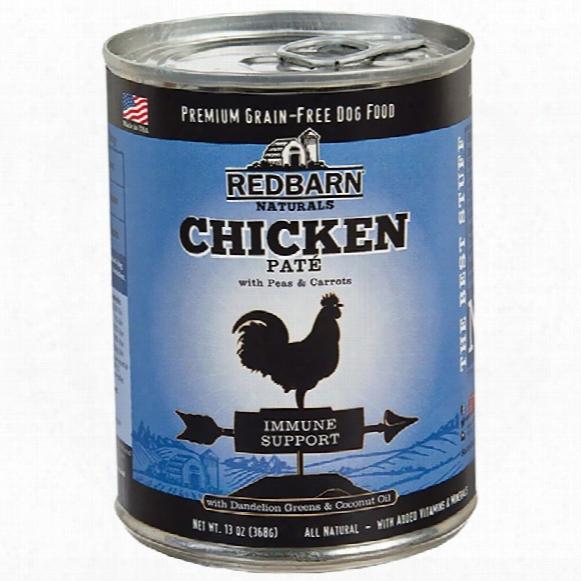Redbarn Pate Immune Support Dog Food - Chicken (13 Oz)