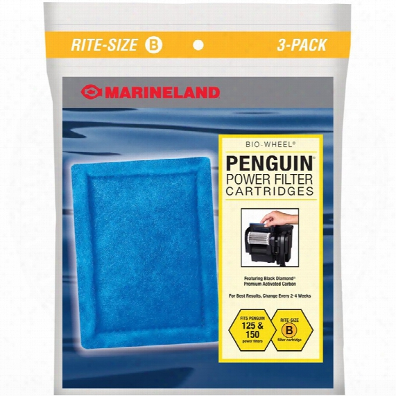 Marineland Penguin Power Filter Cartridge Rite-siez B (3 Pk)