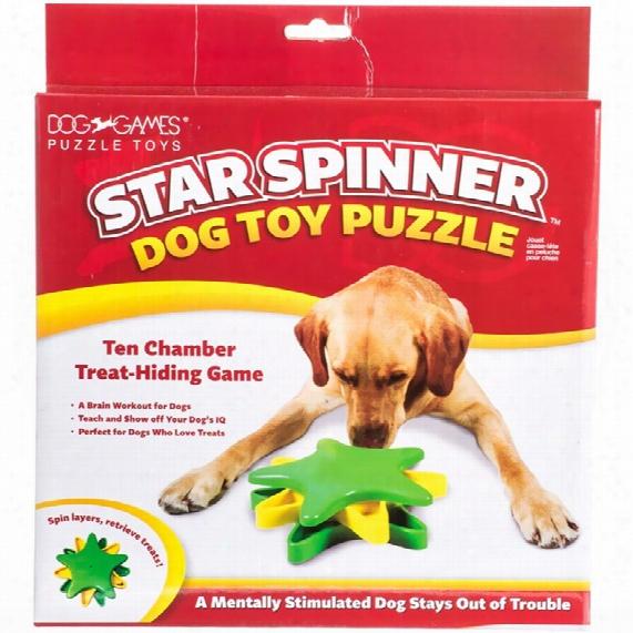 Outward Hound Star Spinner Dog Toy Puz2le