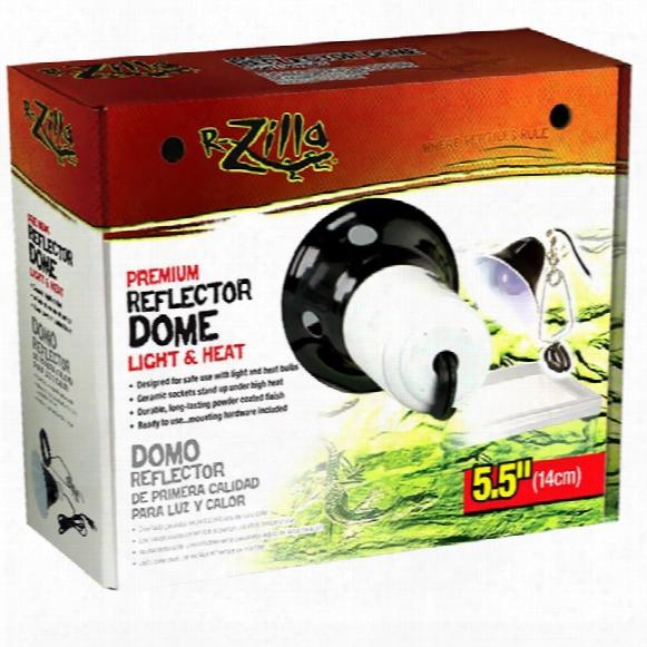 R-zilla Premium Reflector Dome Light & Heat (5.5 Inches)