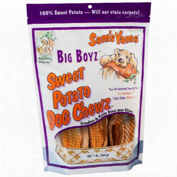 Sam's Yams Big Boyz Sweet Potato Chewz (15 Oz)