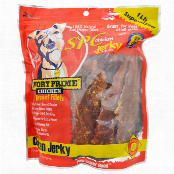 Savory Prime Natural Chicken Jerky (16 Oz)