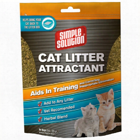 Simple Solution Cat Litter Attractant (9 Oz)