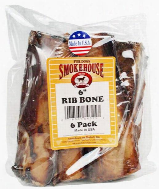 """Smokehouse Usa Rib Bones 6"""" (6 Pack)"""