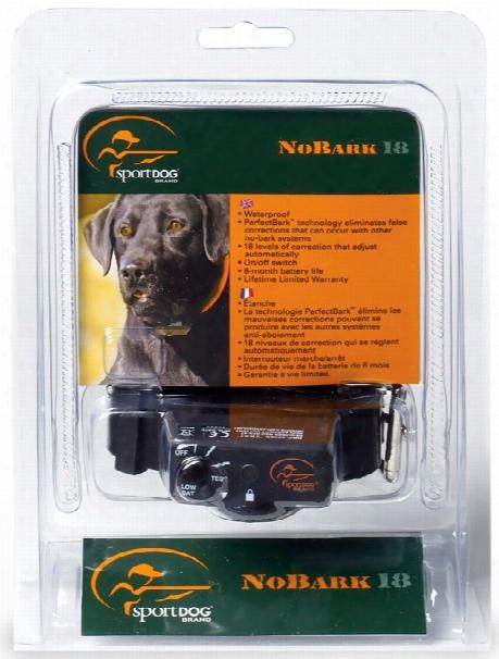 Sportdog Bark Control - 18 Levels