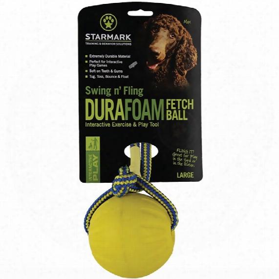 Starmark Swing & Fling Durafoam Fetch Ball - Large