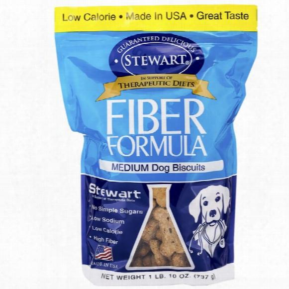 Stewart Fiber-formula - Medium Dog Biscuits 1 Lb. (10 Oz)