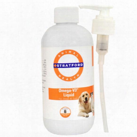 Stratford Omega-v3 Liquid For Dogs & Cats (8 Oz)