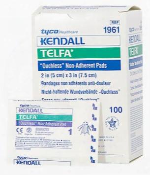 "Telfa Pads Non-adherent Dressing Sterile (2""x3"") - 100 Pack"
