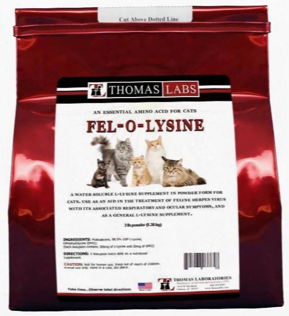 Thomas Labs Felo-lysine Powder (2.2 Lb)