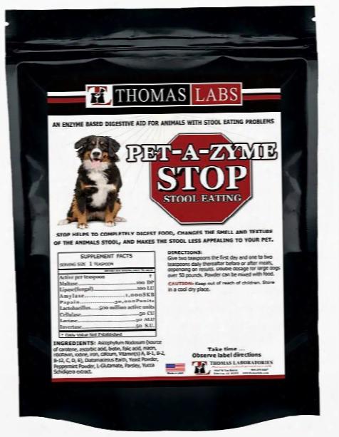 Thomas Labs Pet-a-zyme Stop Stool Eating (8 Oz)