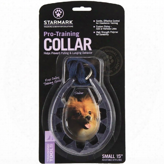 "Triple Crown Collar - Small (15"")"