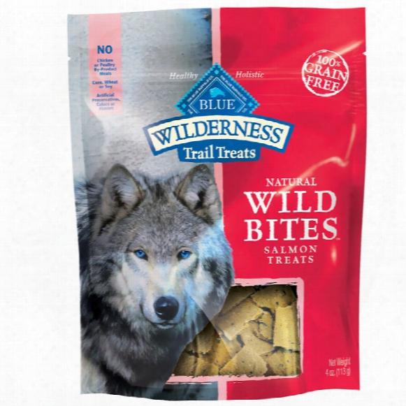 Blue Buffalo Wilderness Natural Wild Bites Salmon Treats (4 Oz)