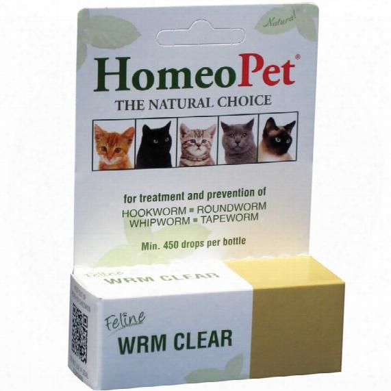 Homeopet Feline Wrm Clear (15 Ml)