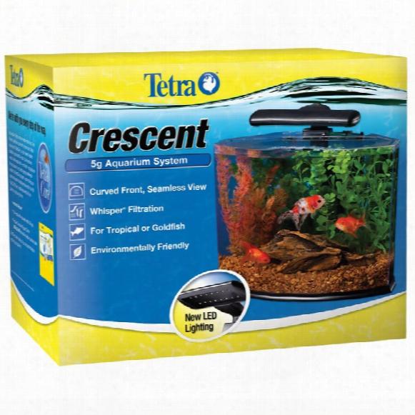 Tetra Crescent 5g Aquarium System Kit (5 Gal)