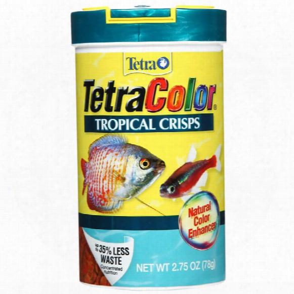 Tetracolor Tropical Crisps (2.75 Oz)