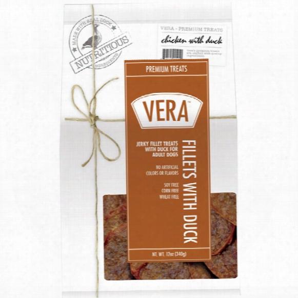 Vera Premium Treats - Fillets With Duck (12 Oz)