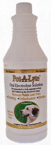 Vet Classics Pet-a-lyte Oral Electrolyte Solutionâ (32 Oz)