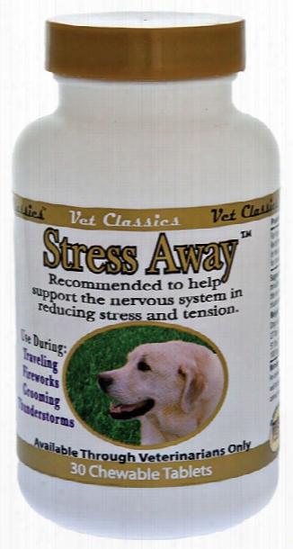 Vet Classics Stress Away Chew (30 Tablets)