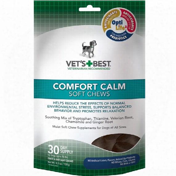 Vet's Best Comfort Calm Soft Chews (30 Count)