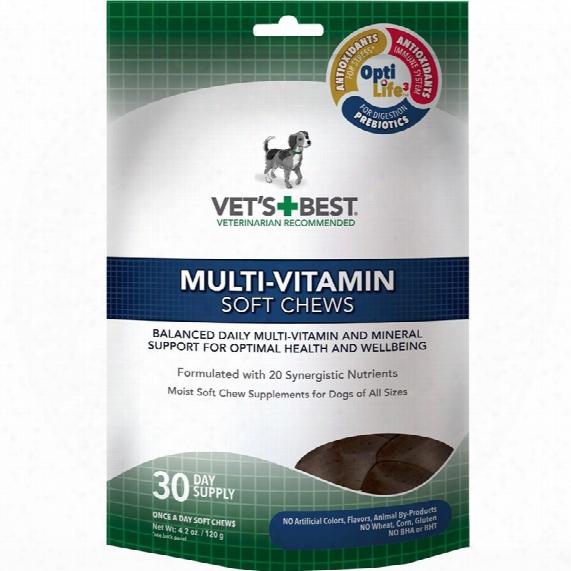 Vet's Best Multi-vitamins Soft Chews (30 Count)